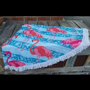 Other - Round Microfiber Beach Towel